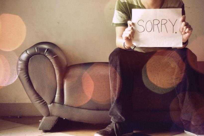 Η συγγνώμη φαίνεται στις πράξεις
