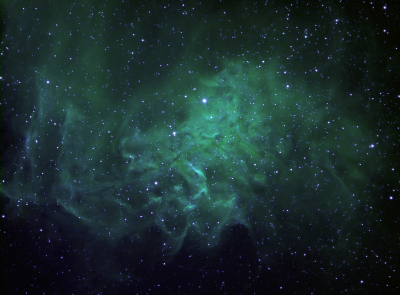 green high resolution nebula wallpaper - photo #11