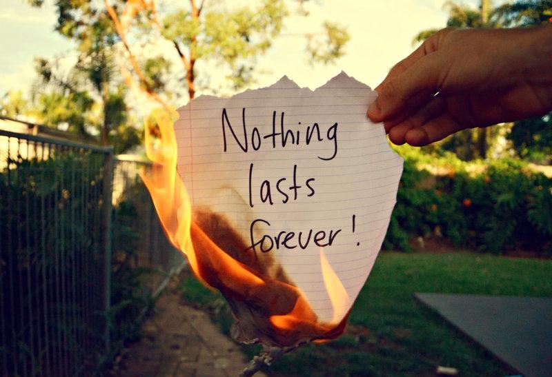 Τα «για πάντα» που σκόρπισαν