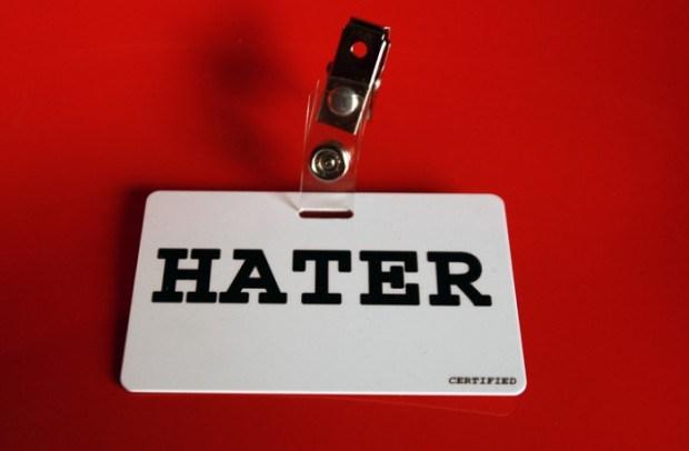 Η μυστήρια φάρα των haters