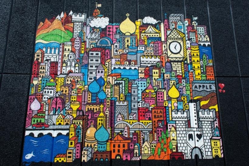 Θαυμασμός και σεβασμός στους καλλιτέχνες του δρόμου