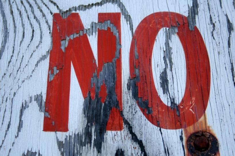 Να μάθεις να λες όχι