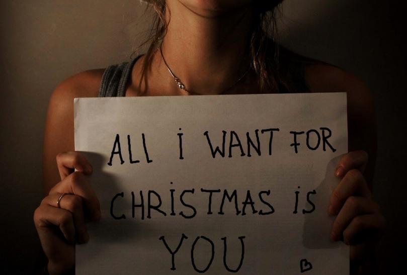 Όλα όσα θέλω για τα Χριστούγεννα είσαι εσύ