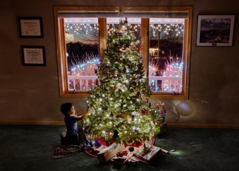 Τα Χριστούγεννα είναι μαγικά για τα παιδιά