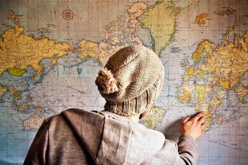 Γουστάρουμε να ταξιδεύουμε μόνοι