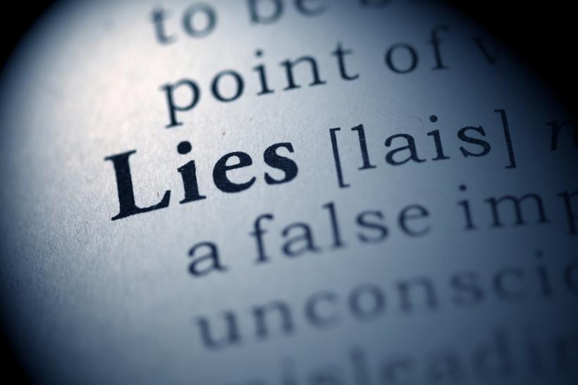Το ψέμα είναι τρόπος ζωής