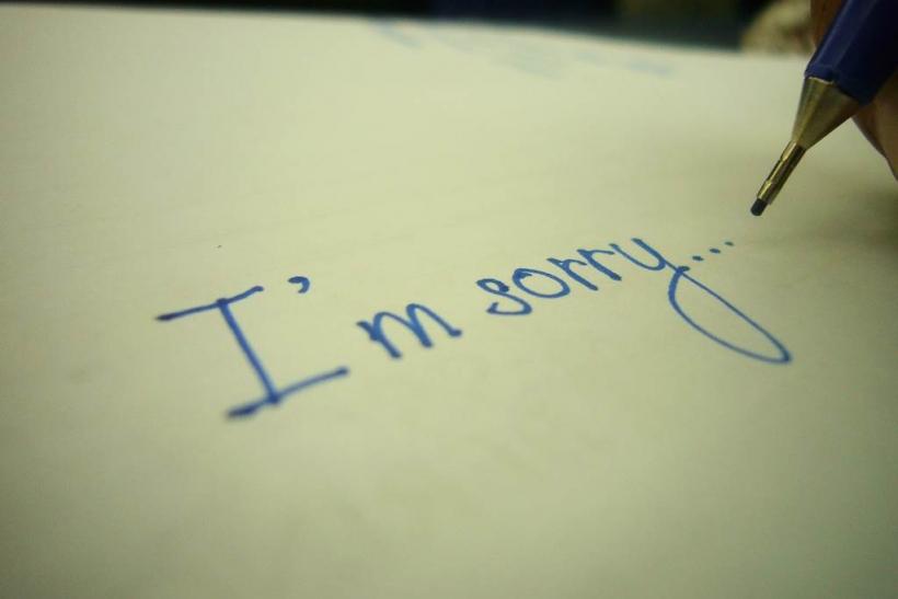 Οι στιγμές της συγγνώμης και της αυτοκριτικής