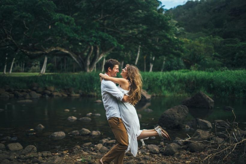 Όταν ερωτευόμαστε όλοι γινόμαστε ρομαντικοί