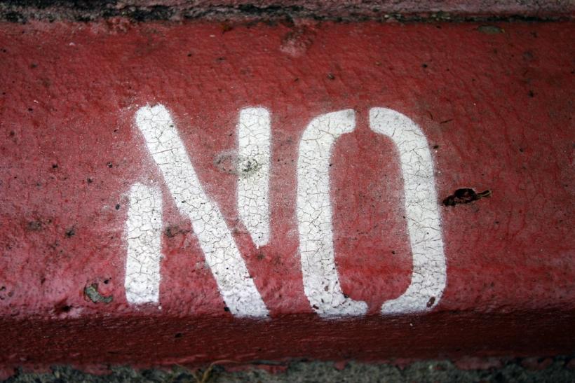 Απ' τα «όχι» μας κρινόμαστε