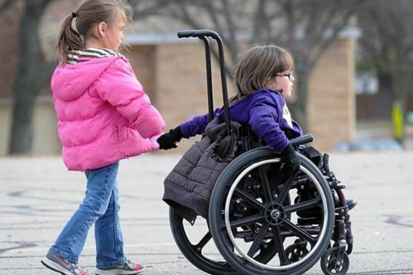 Τα παιδιά με αναπηρία δε διαφέρουν από τα άλλα παιδιά