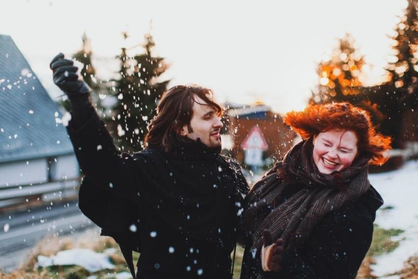 Ένας χιονοπόλεμος να γίνουμε και πάλι παιδιά