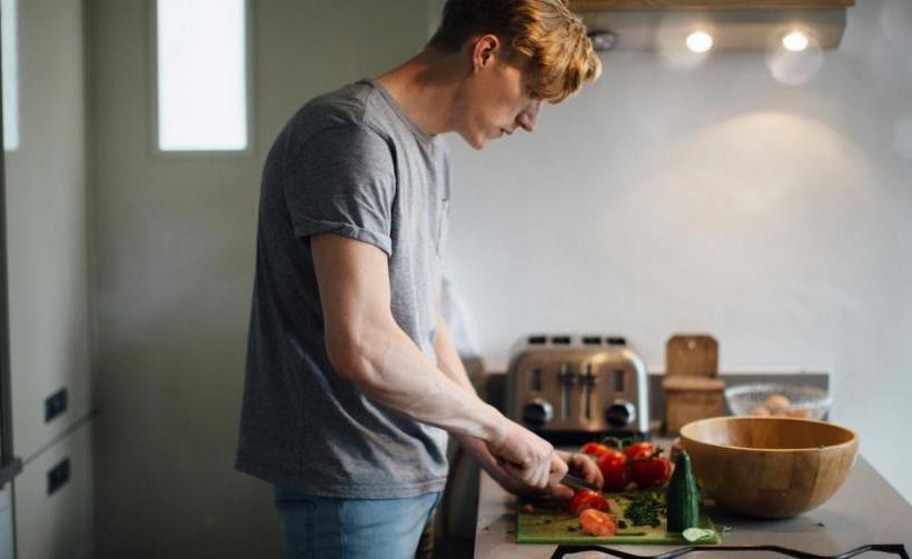 Άνδρες και μαγειρική