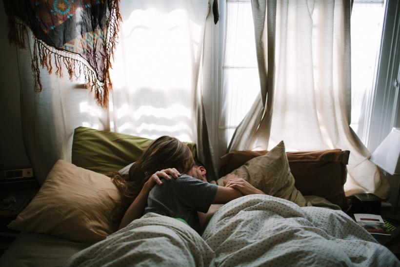 Ευτυχία είναι να κοιμάστε και να ξυπνάτε μαζί