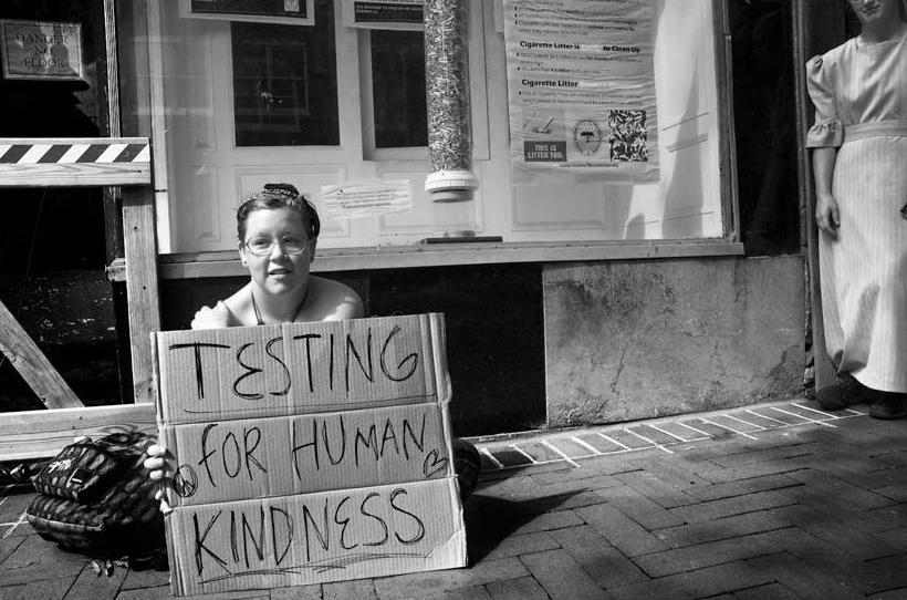 Η καλοσύνη έρχεται τσάμπα