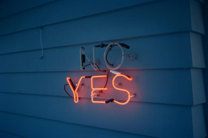 Μη λες «ίσως» όταν θες να πεις «όχι»