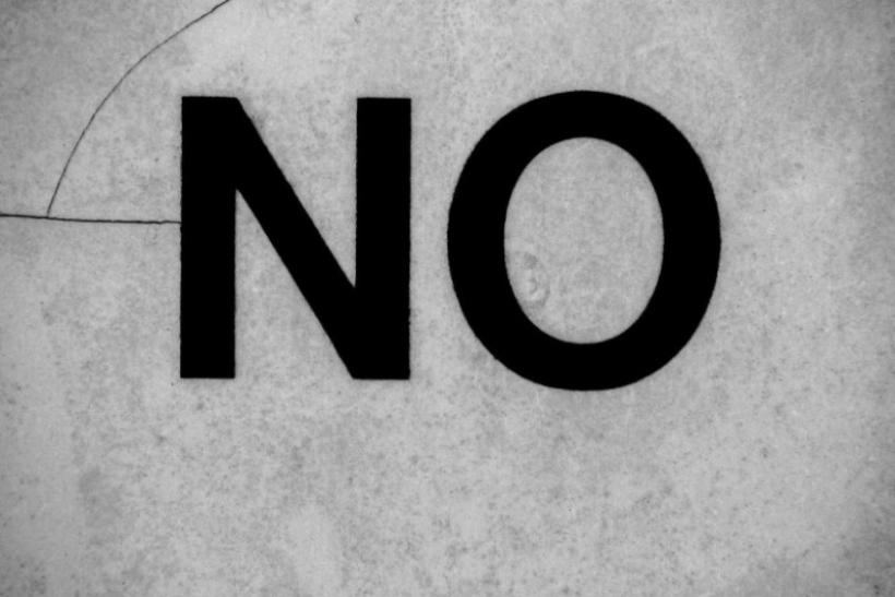 Ακόμη να μάθεις να λες «όχι»;