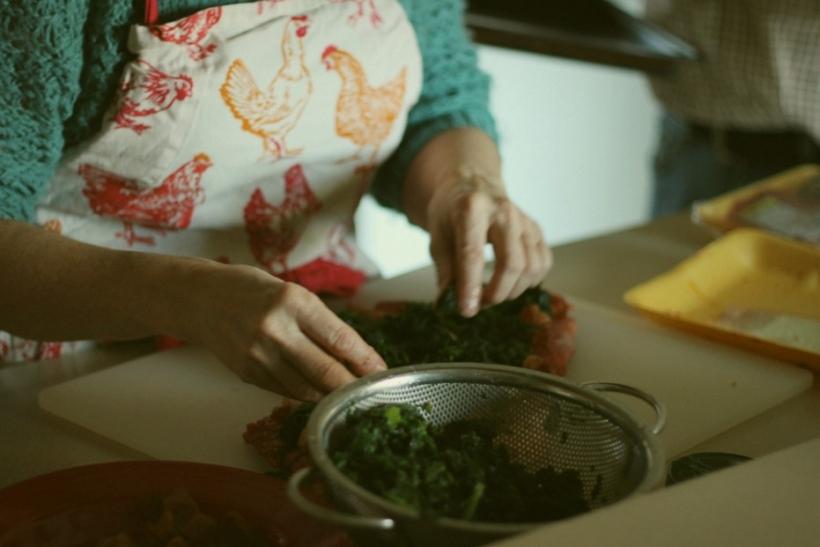 Να λες στη μάνα σου πόσο καλή μαγείρισσα είναι