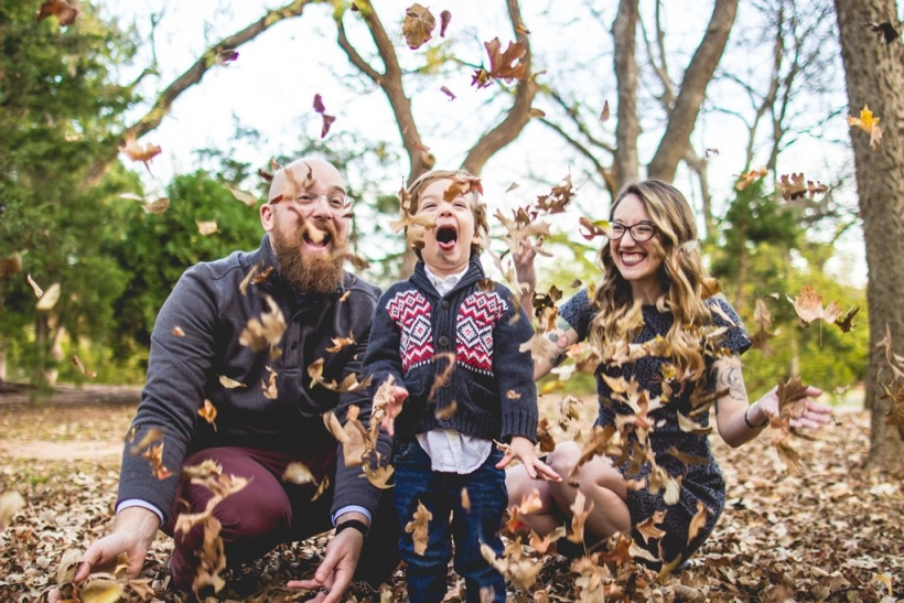 Ευτυχισμένο ζευγάρι, ευτυχισμένα παιδιά
