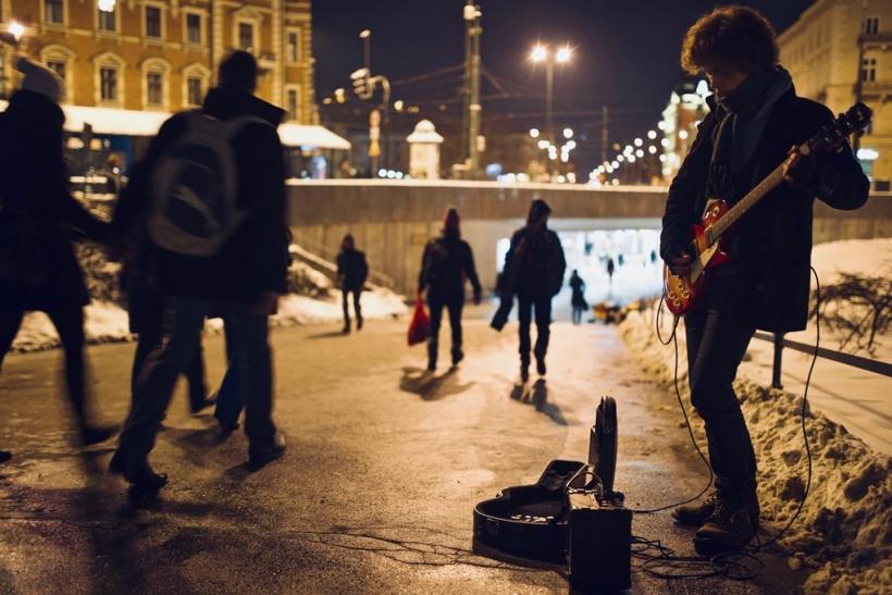 Μουσικοί του δρόμου∙ αυθεντικοί καλλιτέχνες