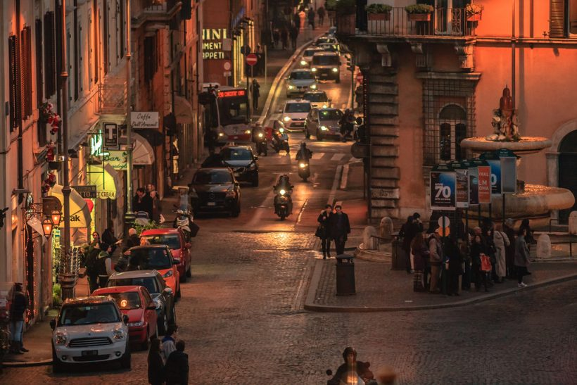 Στη Ρώμη ερωτεύεσαι 100 φορές τη μέρα!