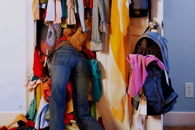 Μαμά, πού έβαλες το παντελόνι μου;