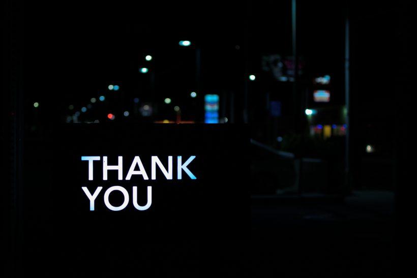 Σ' ευχαριστώ που τον άφησες