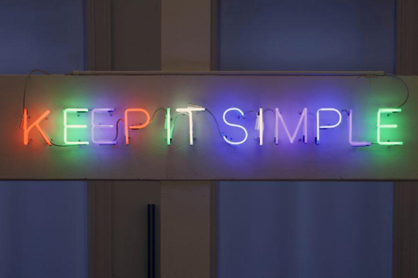Κάν' το με τον πιο απλό τρόπο!
