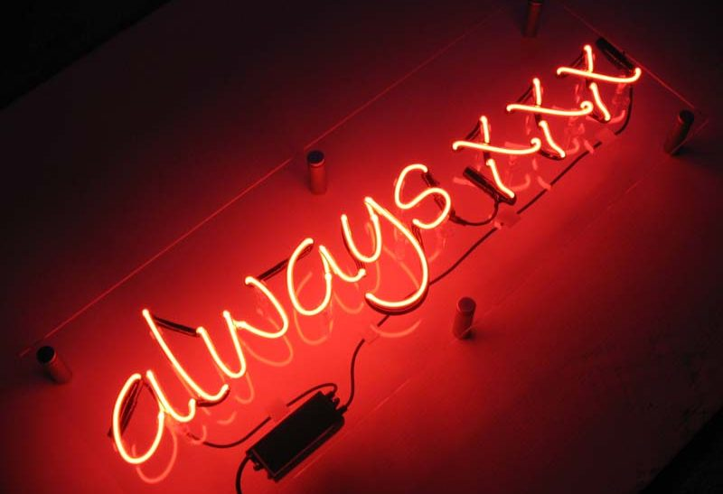 always-xxx-neon-sign