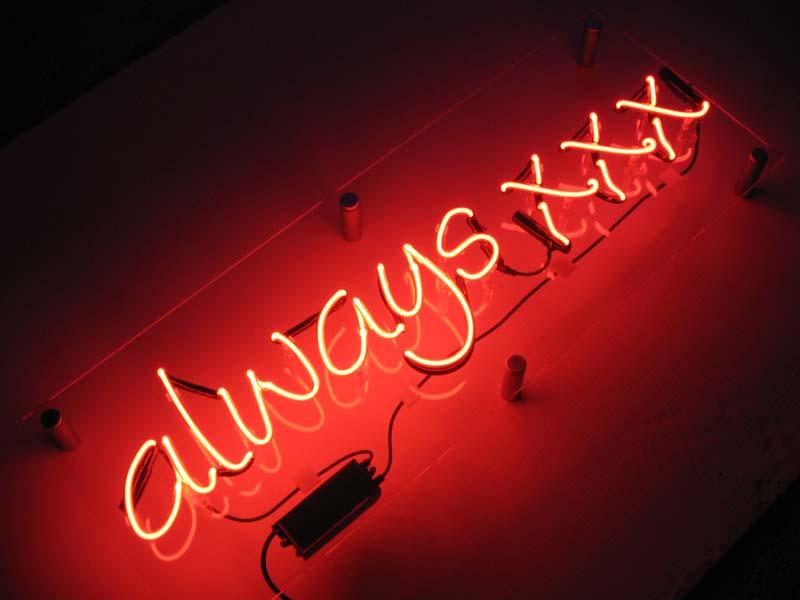 always-xxx-neon-sign