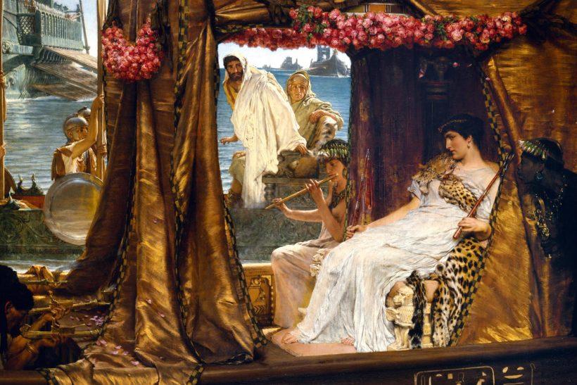 Μάρκος Αντώνιος και Κλεοπάτρα· μια σχέση πάθους κι εξουσίας