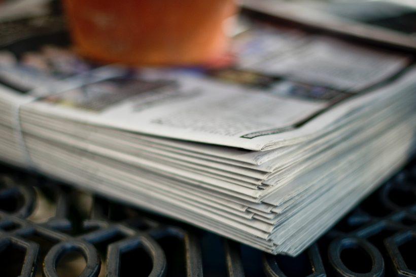 Εμείς που ακόμα αγοράζουμε εφημερίδες και περιοδικά!