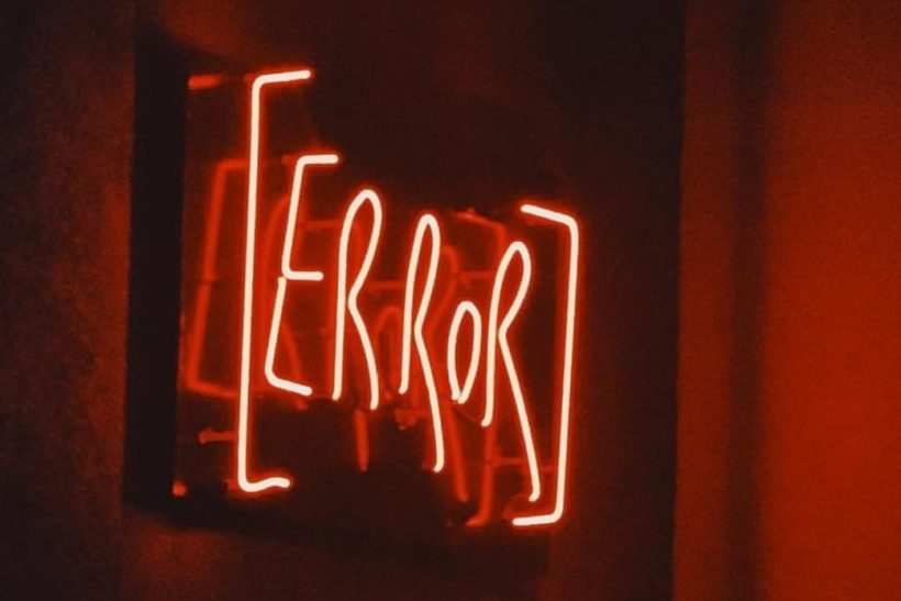 Error 404· το νόημα δε βρέθηκε παρακαλώ επανεκκινήστε τον εαυτό σας
