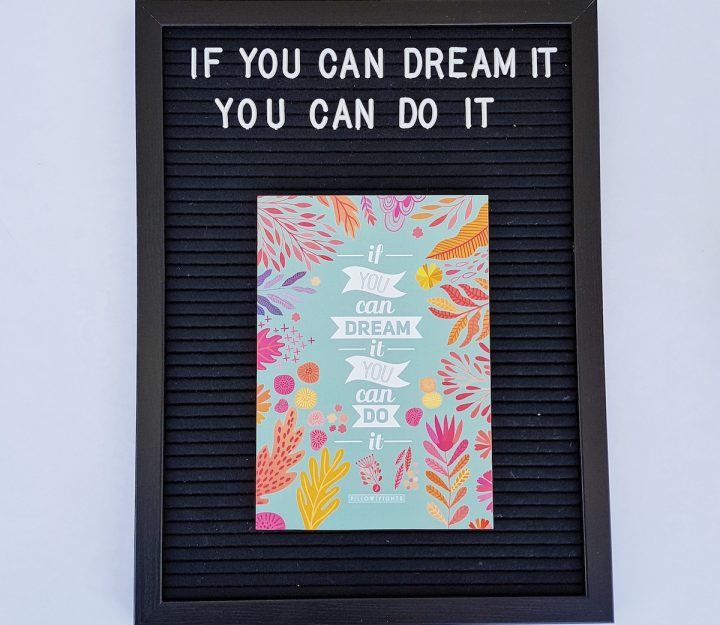 Notebook | If you can dream it you can do it!