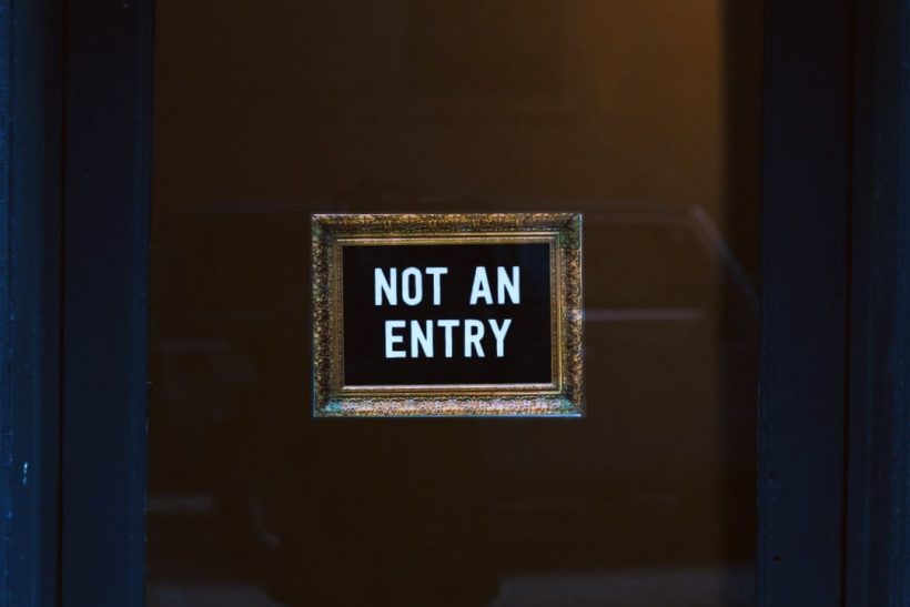 Μην παίρνεις κάθε «όχι» σαν προσωπική απόρριψη