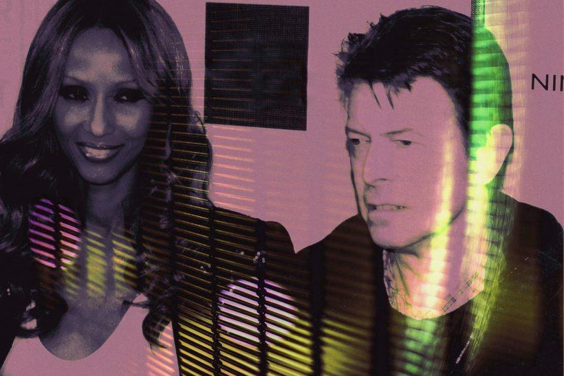 David Bowie-Iman: αυτό που λέμε έρωτας με τα όλα του