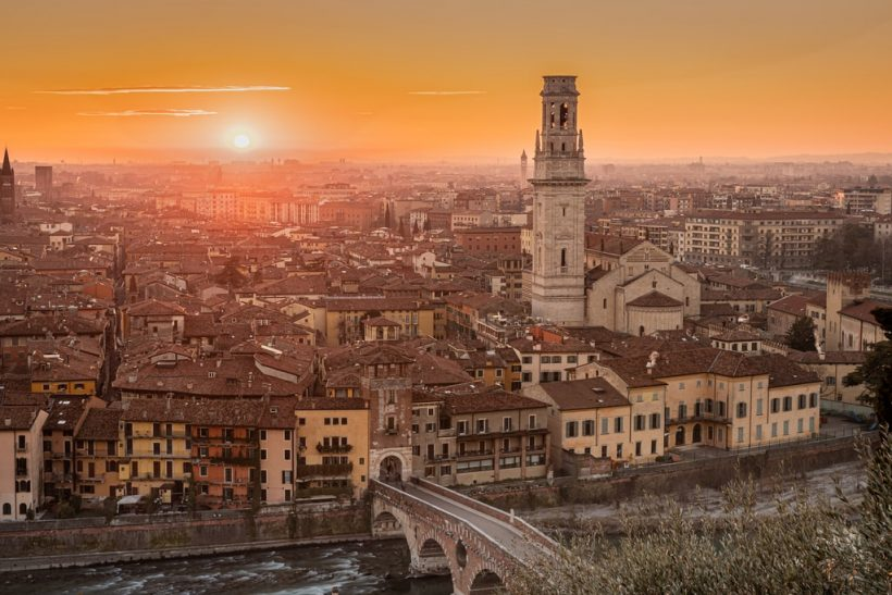 Ένα ταξίδι στη Βερόνα υπόσχεται μια εμπειρία μοναδική